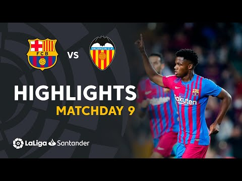 Resumen de FC Barcelona vs Valencia CF (3-1)