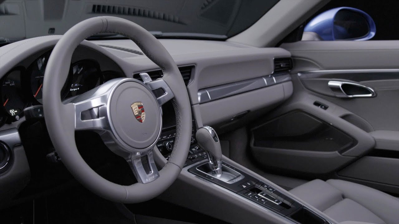New 2015 porsche 911 targa interior youtube for Porsche 911 interieur