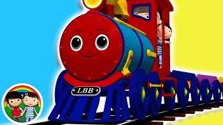 Shape Train | Little Baby Bum | Baby Songs & Nursery Rhymes | Learn With ABC 123