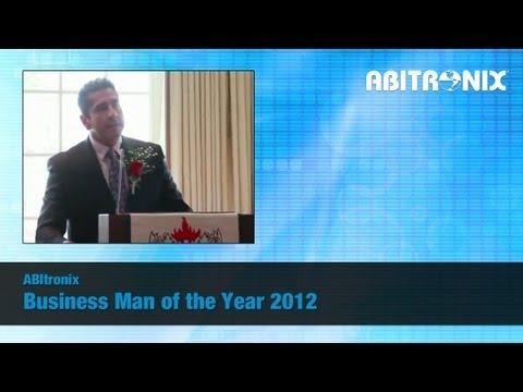Business Man of the Year 2012 - Award Acceptance Speech