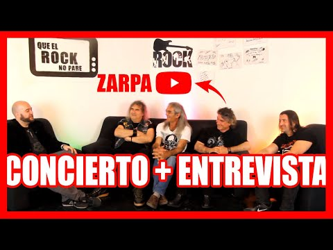 ZARPA EN DIRECTO - QUE EL ROCK NO PARE - FINAL TEMPORADA