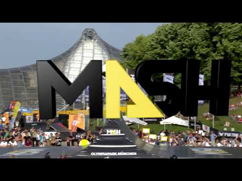 Munich MASH 2017: BMX Spine Ramp Best Trick