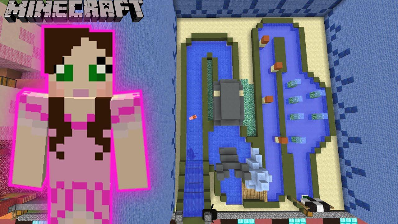 Minecraft BACON FARM RACE OF ISANITY  FUN TIME PARK 7  YouTube