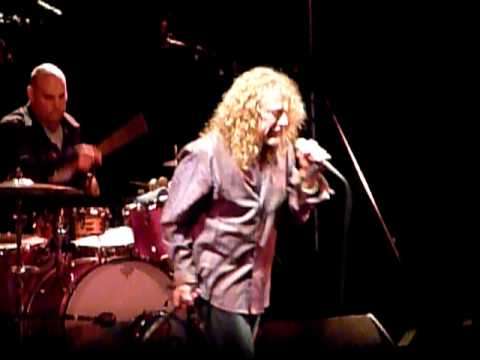 Robert Plant and The Band Of Joy live at Liverpool Olympia 21st Oct 2010