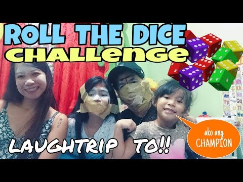 ROLL THE DICE CHALLENGE HABANG QUARANTINE (sobrang laughtrip to)