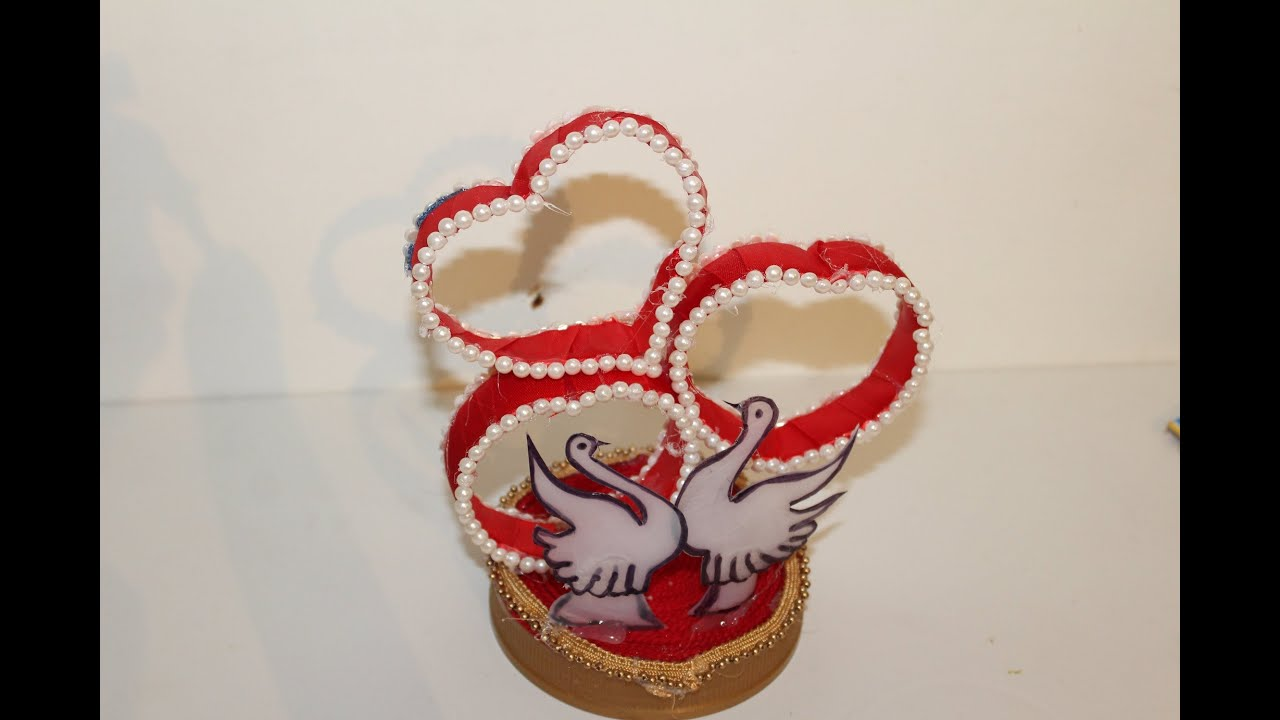 DIY-Best out of waste Plastic Bottle transformed to Lovely Heart ...