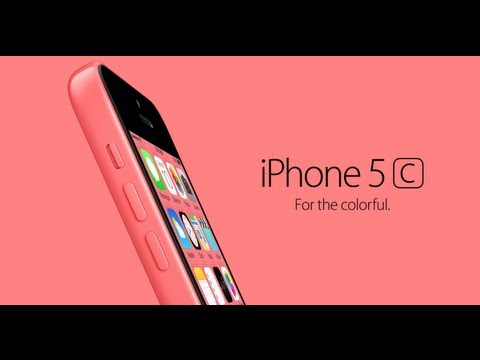 Apple iPhone 5C Official Video