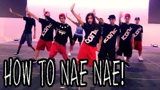 HOW TO NAE NAE | Dance TUTORIAL ft The Iconic Boyz (Hip Hop Moves)