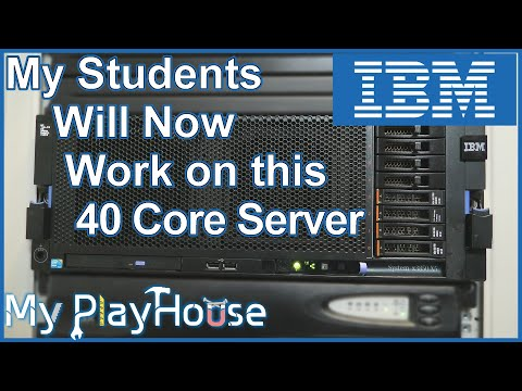 The IBM System X3850 X5 Moves In To My PlayHouse Rack1 - 962