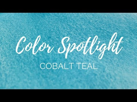 Color Spotlight Returns - Cobalt Teal (PG50 & PB28)