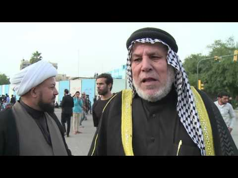 Supporters Of Powerful Iraq Cleric Hold Rally In Baghdad
