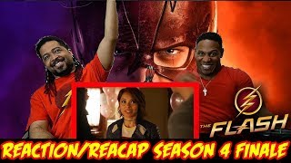 """The Flash Season 4 Finale Reaction & Recap Show """"We Are The Flash"""" (""""This season suck?"""" Discussion)"""