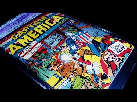 Captain America Comics #1 CGC High Grade! RARE! MUST WATCH!