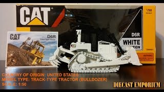 tonkin caterpillar d6r track type tractor white