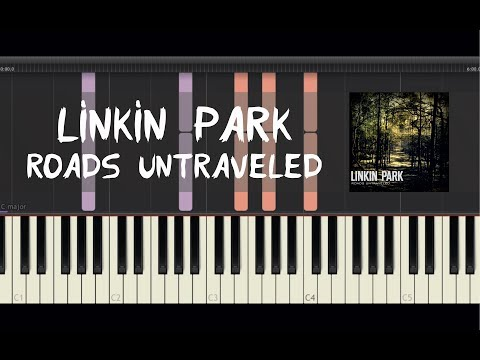 Linkin Park - Roads Untraveled - Piano Tutorial by Amadeus (Synthesia)