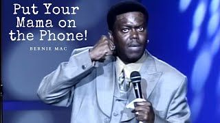 "Bernie Mac ""Put Your Mama on the phone"" Kings of Comedy Tour"