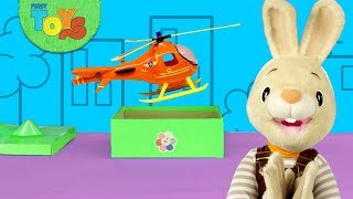 Surprise Toys Unboxing for Kids | Helicopter & Truck With Harry The Bunny Pretend Play | The Toy Box