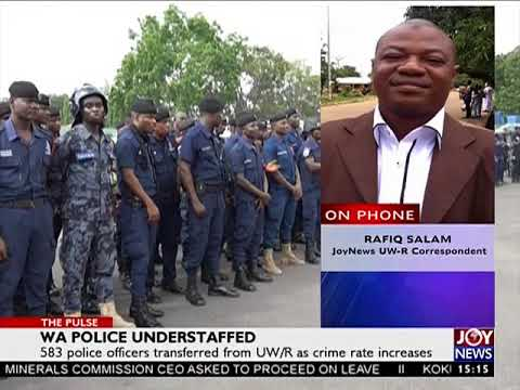 WA Police Understaffed - The Pulse on Joy News (22-8-17)