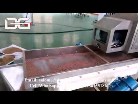 300kg/h Twin Screw Extruder  Fish Feed Machine Fish Food Pellet Plant