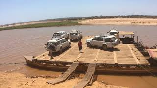 Madagascar loading the ferry time lapse