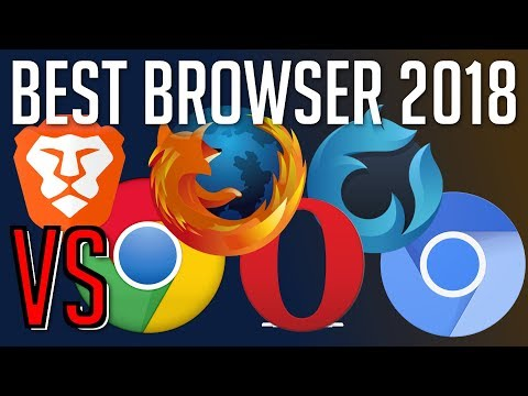 Brave vs Chrome vs Firefox vs Opera vs Waterfox vs Chromium | Best Web Browser 2018?