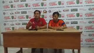 Pelatih Persibo Akui Pemainya Nervers || Sesi Pers Confers Persibo Bojonegoro Vs Persis Solo