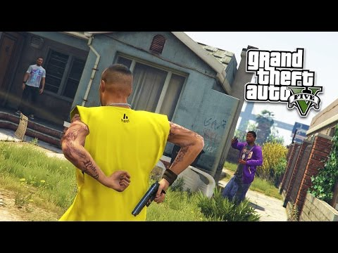 GTA 5 PC Mods - JOINING A GANG MOD! GTA 5 Gang and Gang Wars