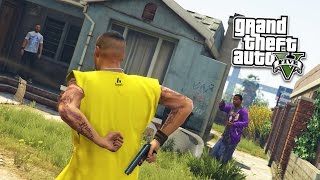 GTA 5 PC Mods - JOINING A GANG MOD! GTA 5 Gang and Gang Wars Mod Gameplay! (GTA 5 Mod Gameplay)