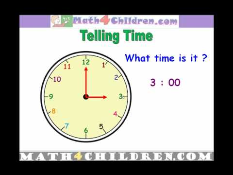 Telling Time Games For Kids - Learn To Tell Time - Apps on ...