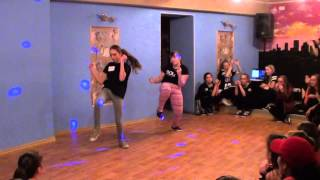 Hip-hop improvisation дуэт - детский танцевальный конкурс