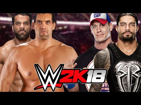 Jinder Mahal and The Great Khali vs John Cena and Roman Reigns thumbnail