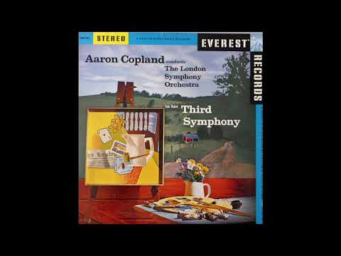Aaron Copland - The London Symphony Orchestra ‎– Third Symphony