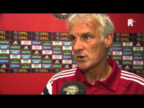 Fred Rutten over het gelijkspel van Feyenoord tegen Real Sociedad