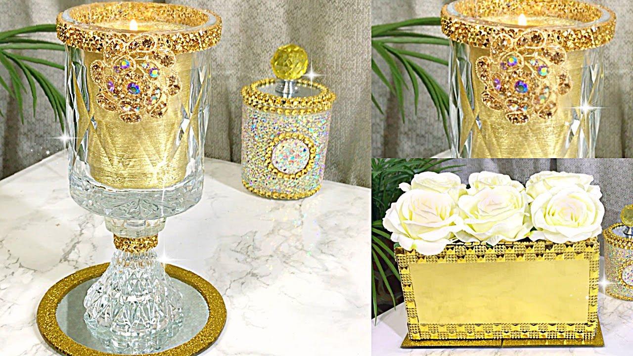 ROMANTIC VINTAGE GOLDEN ROOM DECOR ROOM DECOR DIY Room Decorating Ideas DIY