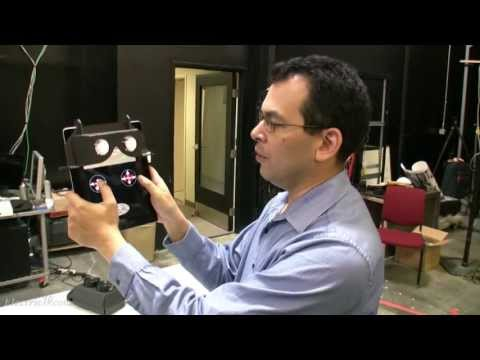 Mixed Reality Lab 2012 tour @ USC's Institute for Creative Technologies