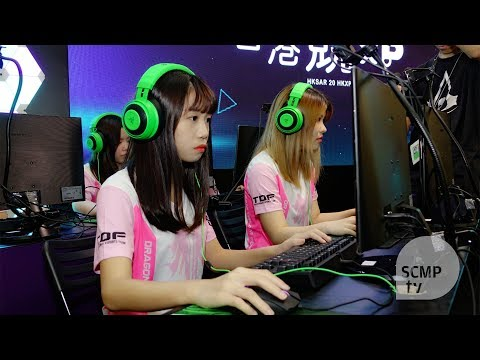 Battle of the sexes as e-sports teams compete in Hong Kong