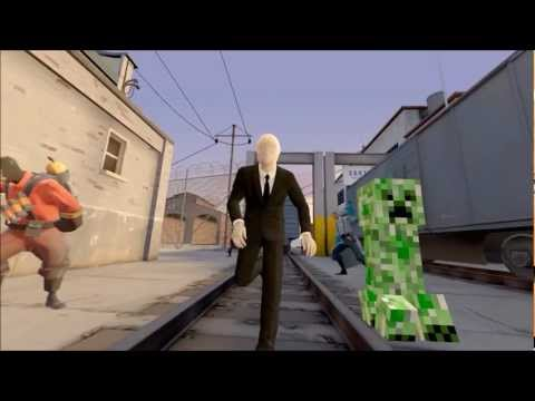 SFMThe Epic Run of Slenderman
