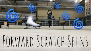 Forward Scratch Spins | Lessons With Eye Katie