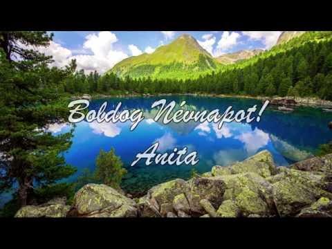 névnapi köszöntő anita Boldog Névnapot Anita!   YouTube névnapi köszöntő anita