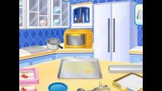 Сара класса кулинария игры: на лед пирожное с кремом кулинарные игры для детей