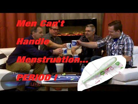 The Crew Live- Men Can't Handle Menstruation ...PERIOD! -Brilliant Banter#7