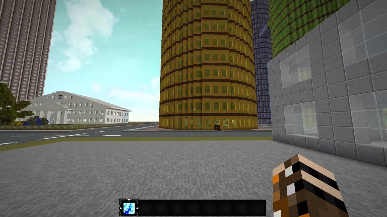 Minecraft Lets Show Deutsch HD Hochhäuser Ohne - Minecraft hochhauser