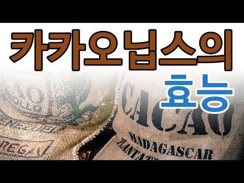 [Cacao nibs] 카카오닙스 효능 다이어트 효과 먹는법은?
