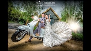 Pre wedding photo editing LightRoom & PhotoShop CC No.17