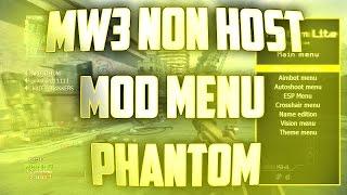 "MW3 (PS3) (1.24) RTM Non Host Menu ""Phantom"""