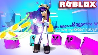 TAKING EVERY COIN AND ALL MYTHICAL PETS EQUIPPED! | Roblox Magnet Simulator