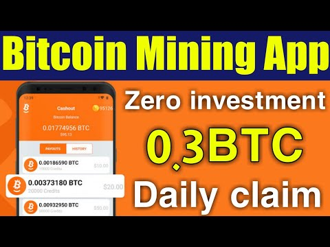 New latest Bitcoin mining App 2020 – Earn Bitcoin without investment , bitcoin earning – okarian rai