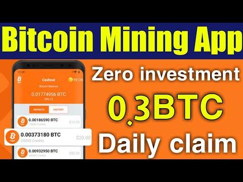 New latest Bitcoin mining App 2020 – Earn Bitcoin without investment , bitcoin earning – okarian rai