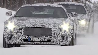 Mercedes AMG GTS Snow Driving Test 2016 Commercial CARJAM TV 4K 2015