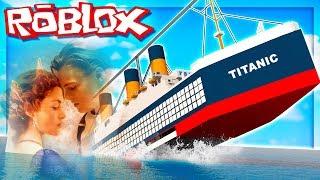"""Randomer #77 ⚓ ROBLOX ⚓ 🚢 """"Escape from the Sinter titanic!"""" 🛳️"""